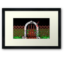 The horror Framed Print