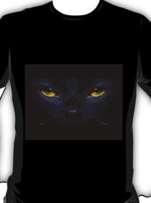Black Cat's Eyes iPhone / Samsung Galaxy Case T-Shirt