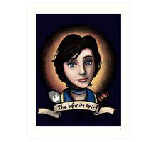 The Infinite Girl Art Print