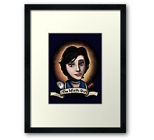 The Infinite Girl Framed Print