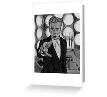 Twelft Doctor- Old Tardis Greeting Card