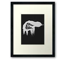 Empire's Winter Framed Print