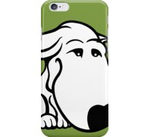 Soppy Bull Terrier White Coat iPhone Case/Skin