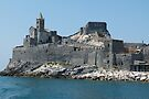 San Pietro Church and Fortifications by Trish Meyer
