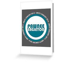 Pawnee-Eagleton unity concert 2014 (2.0) Greeting Card