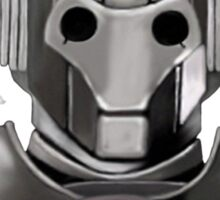 cyberman tee Sticker