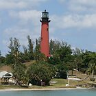 Jupiter Inlet Lighthouse by Jim Roche