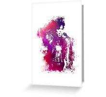 Prince Rogers Nelson - Purple Rain - concert Greeting Card