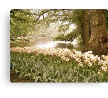 Floral Paradise  Canvas Print