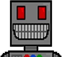 Pixel robot by mirroroworld