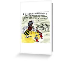 Insect Nightclubs Greeting Card