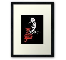 Bullet-Tooth Tony - Snatch Framed Print