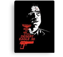 Bullet-Tooth Tony - Snatch Canvas Print