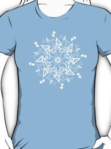 Snowflake - Triangles T-Shirt