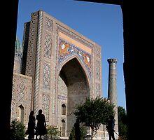 Framed Samarkand by Alastair Humphreys
