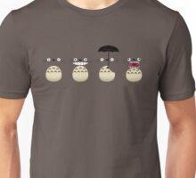 Totoro's Faces Unisex T-Shirt