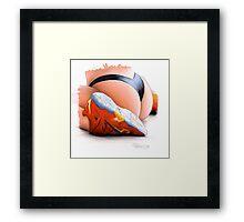 Sneaker Love Framed Print