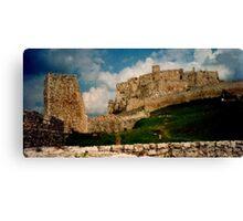 Ancient castle Canvas Print