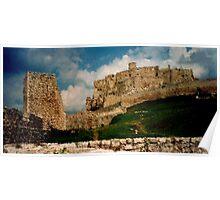 Ancient castle Poster