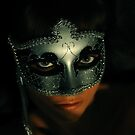 Venetian Mask by Zuzana D Photography