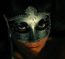 Venetian Mask by Zuzana D Photography