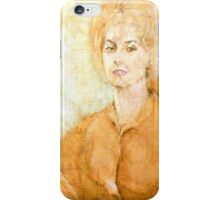 Anne Parker Self Portrait iPhone Case/Skin
