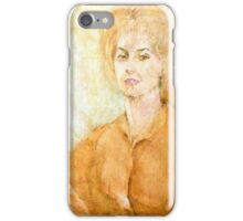 Anne Parker Self Portrait iPhone Case/Skin