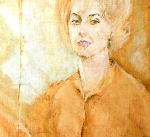 Anne Parker Self Portrait by Mary Buckley