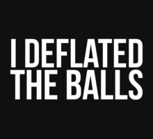 Amazing 'I Delfated the Balls' T-shirts, Hoodies, Accessories and Gifts by Albany Retro