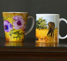 My mugs by Gilberte