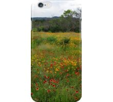 Hill country wildflowers iPhone Case/Skin