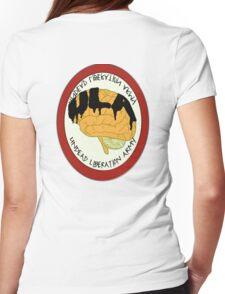ULA [Back Logo] Womens Fitted T-Shirt
