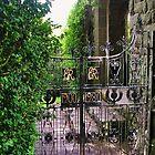 Garden Gate, Glamis Castle by lezvee