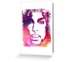 Prince Rogers Nelson - Lotus Flower Purple Greeting Card