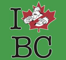 I PNW:GB BC (white) Maple Leaf v2 Kids Clothes