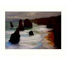 Apostles SW Australia * Art Print