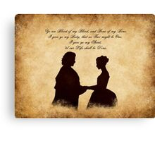 the Wedding Canvas Print