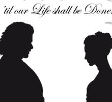 the Wedding Sticker