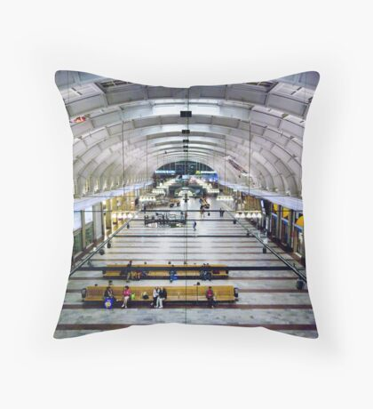 Stockholm Central Station Throw Pillow