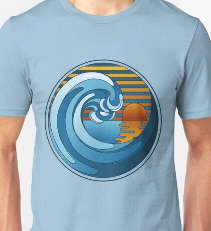 Circle Landscape Unisex T-Shirt