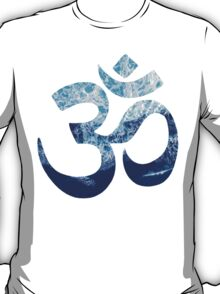 Sea Foam Om T-Shirt