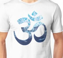Sea Foam Om Unisex T-Shirt