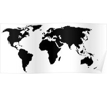 A Simple Globe Poster