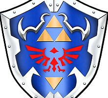 Hylian Shield by AxelFox