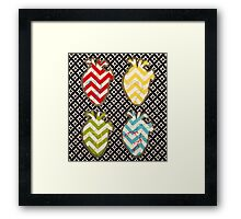 Four of Hearts Framed Print