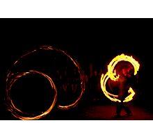 OCF Fire Poi 19 Photographic Print