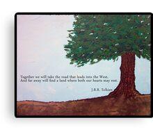 Ent Love Canvas Print