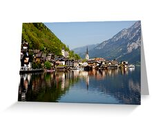 HALLSTATT - AUSTRIA Greeting Card