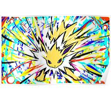 Jolteon | Shock Wave Poster