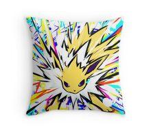 Jolteon | Shock Wave Throw Pillow